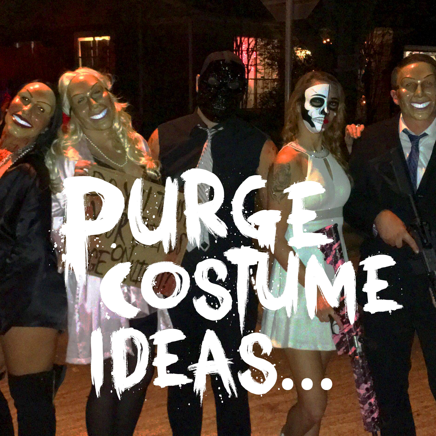 purge costume ideas – loaded nightclub & lounge